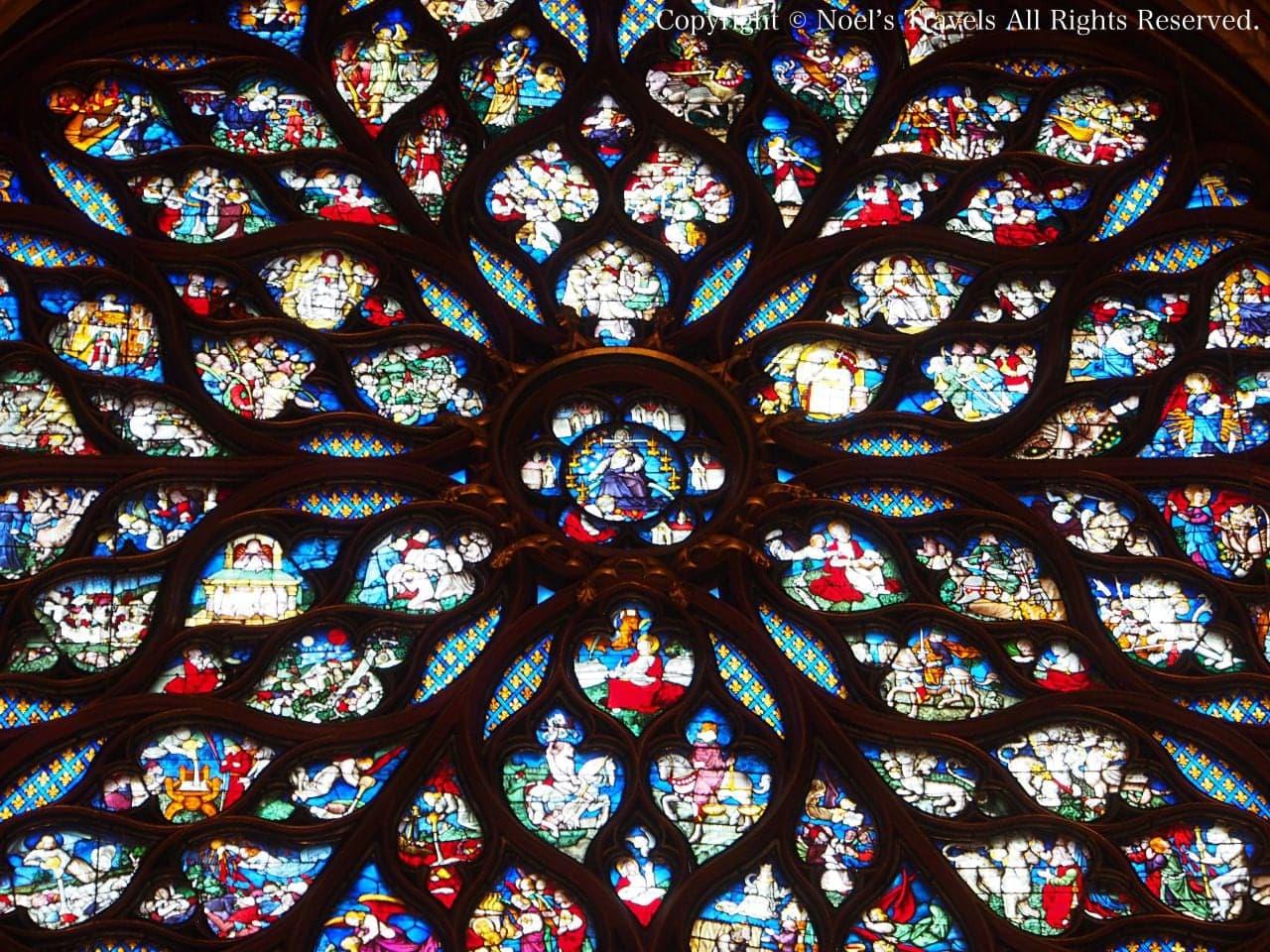 サント・シャペルのバラの窓