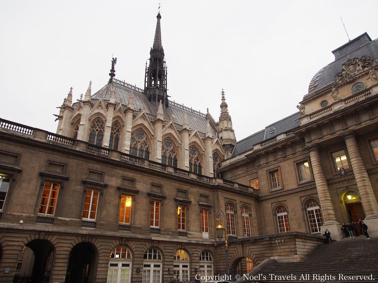 パリのサントシャペル