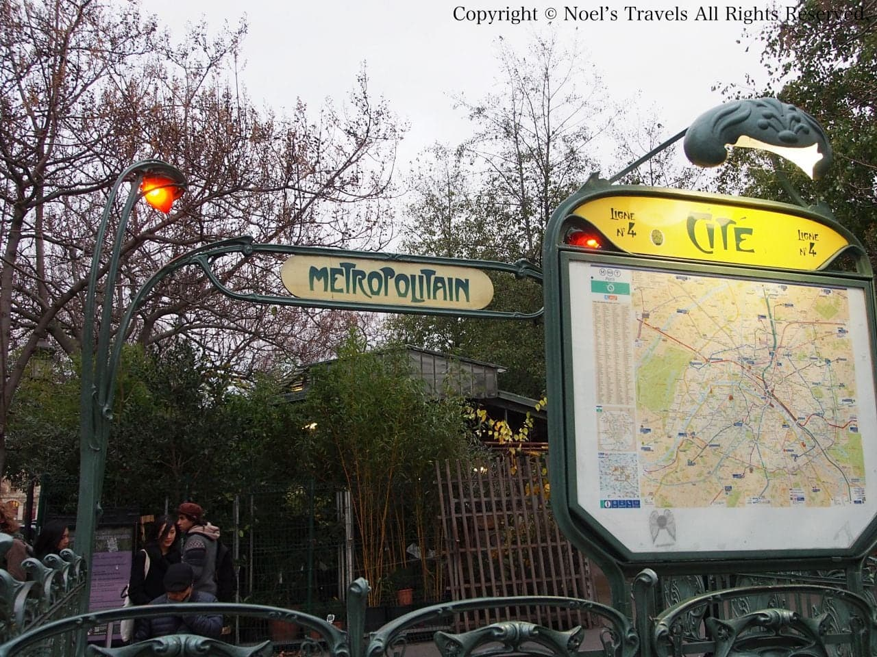 パリのシテ駅