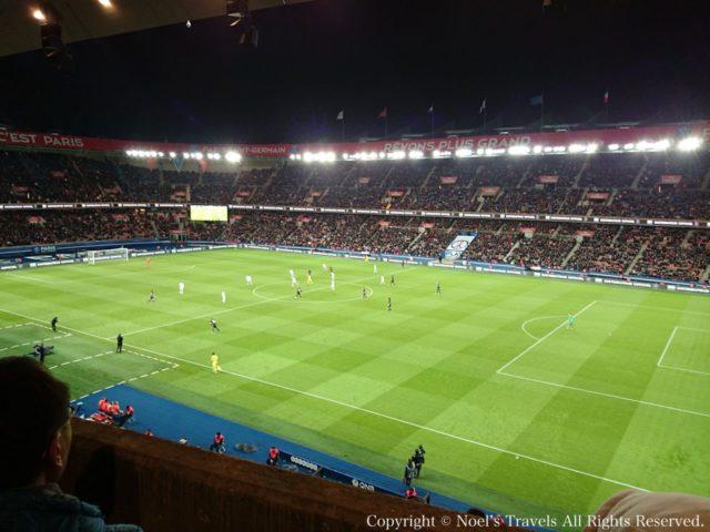 パリ・サンジェルマンのホームスタジアム『パルク・デ・プランス』