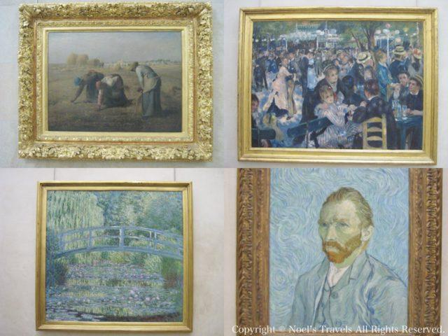 オルセー美術館の有名作品