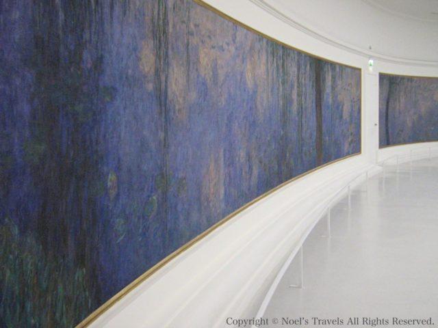 オランジュリー美術館の睡蓮