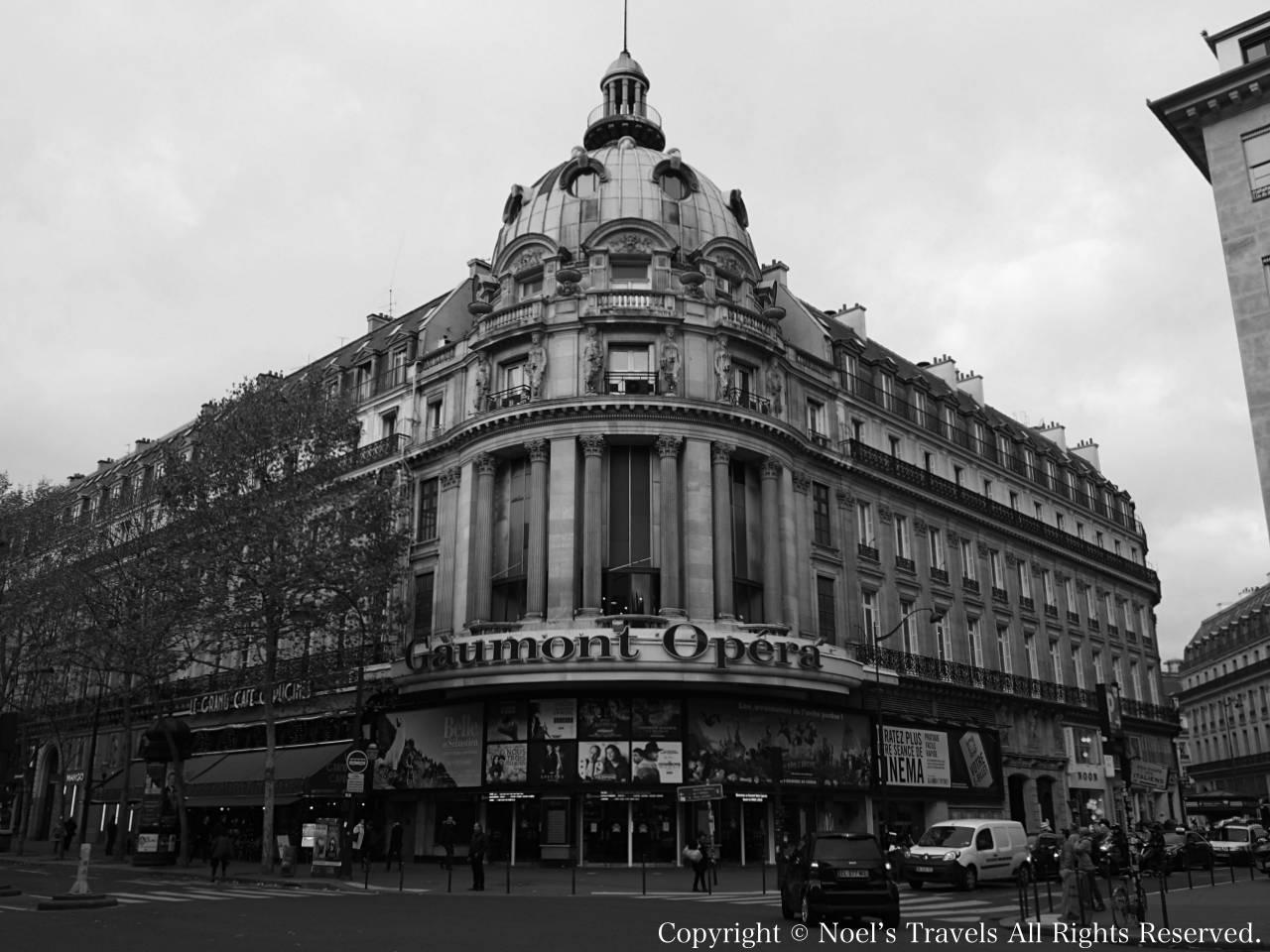 パリのオペラ地区