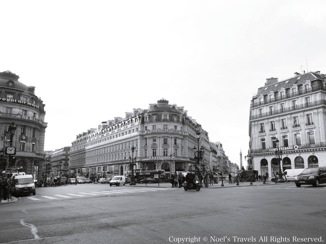 パリのオペラ広場