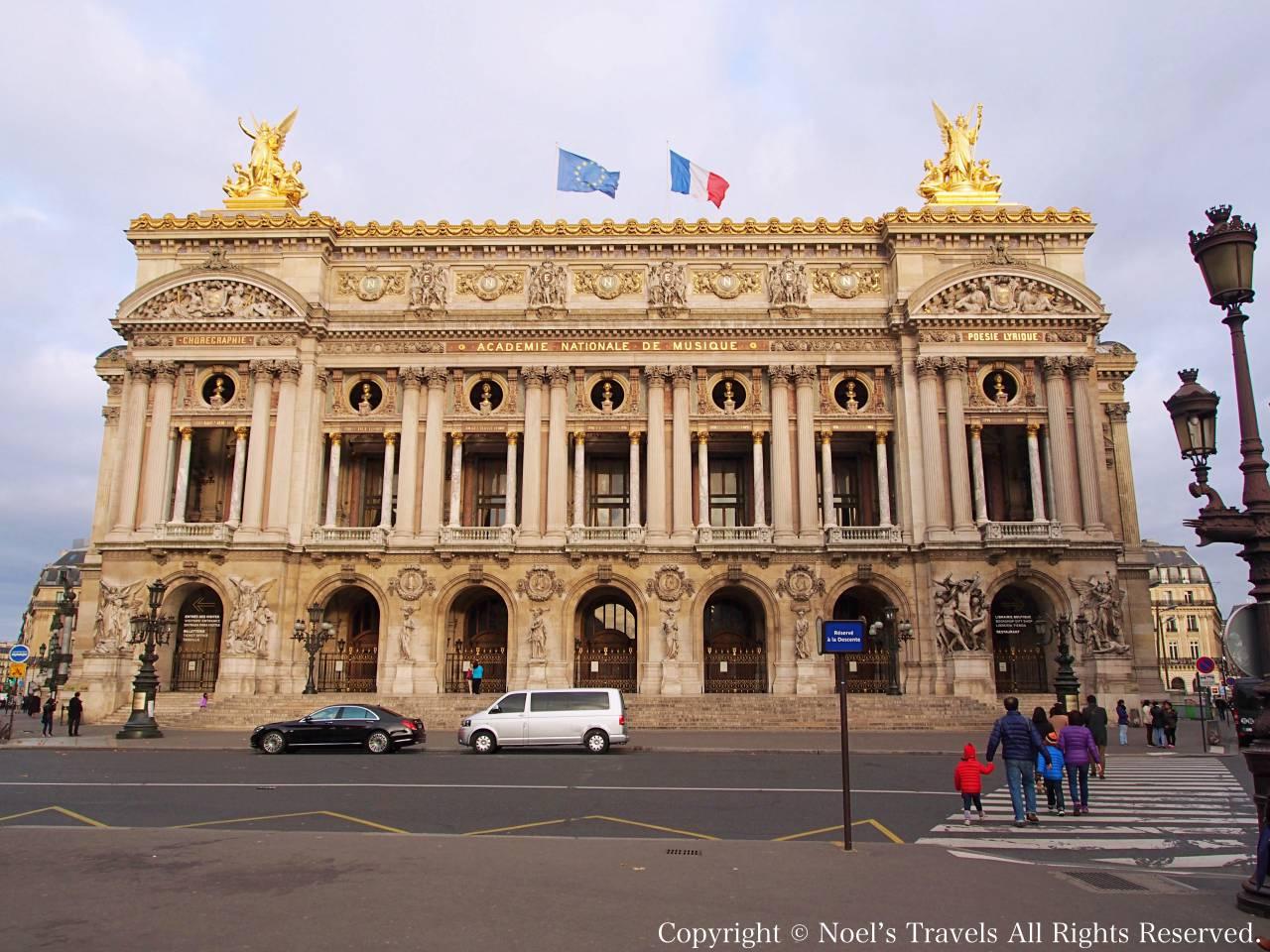 パリのオペラ・ガルニエ(オペラ座)