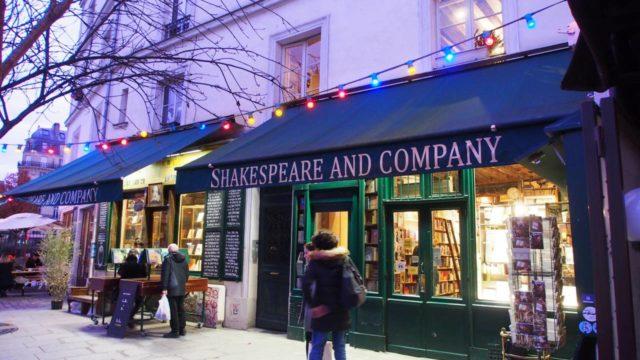 パリのシェイクスピア・アンド・カンパニー