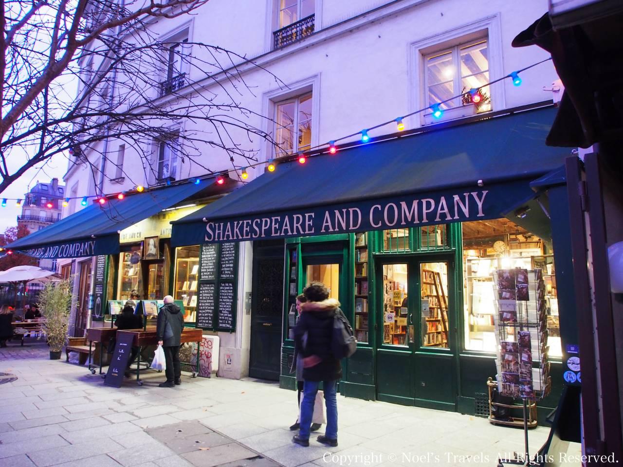 パリで人気の書店「シェイクスピア・アンド・カンパニー」