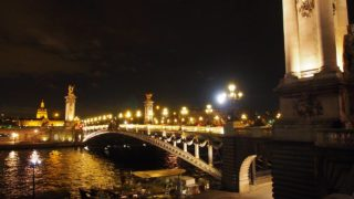 パリのアレクサンドル3世橋
