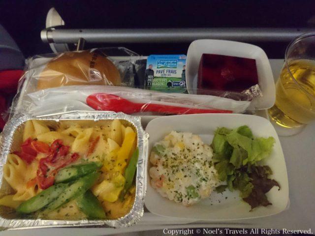 エールフランス航空の機内食