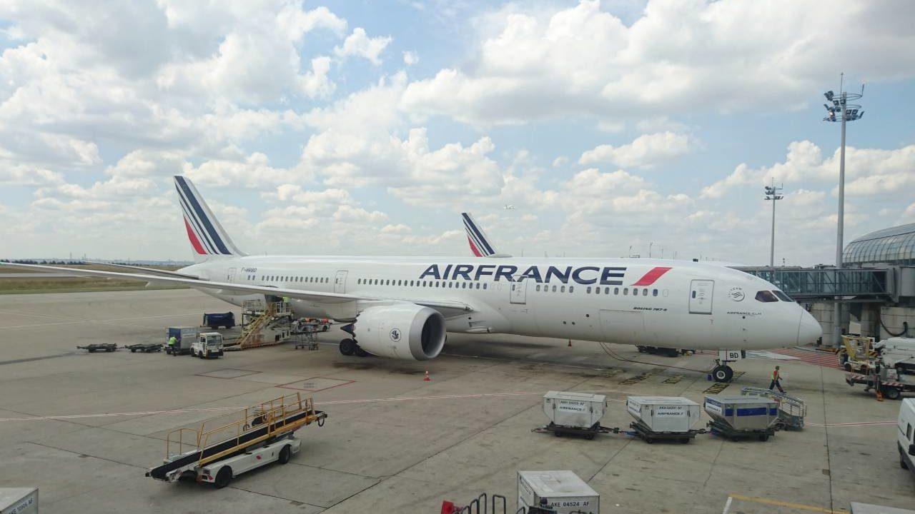 エールフランス航空の機体