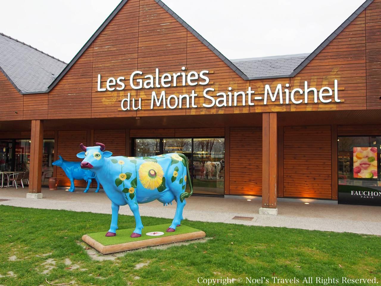 モンサンミッシェルのお土産屋さん「Les Galaries du Mont Saint Michel