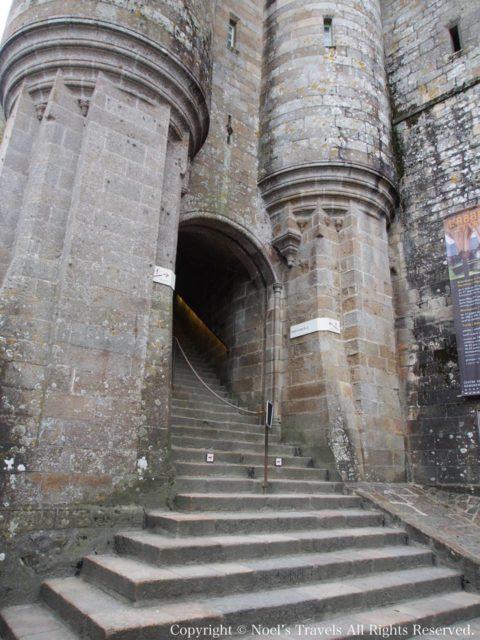モンサンミッシェルの「哨兵の門」