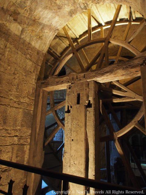 モンサンミッシェルの大車輪