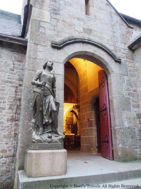 モンサンミッシェルのサン・ピエール教会