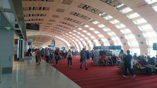 パリ・シャルル・ド・ゴール空港のターミナル2E