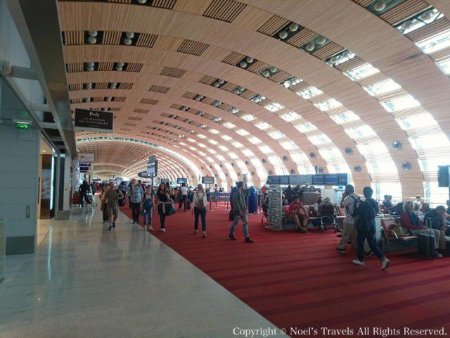 シャルル・ド・ゴール空港のターミナル2E