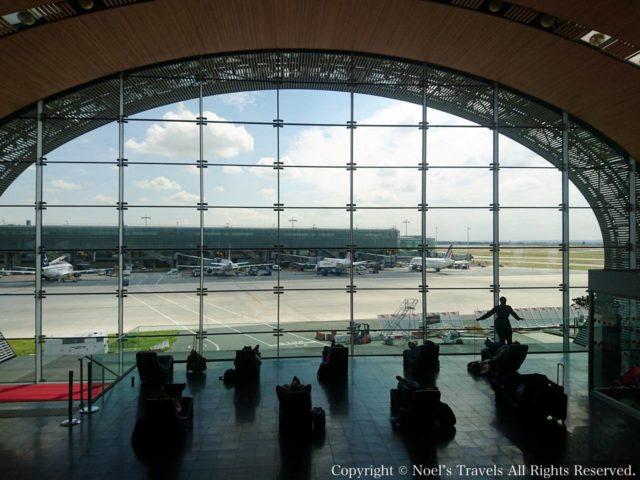 パリのシャルル・ド・ゴール空港