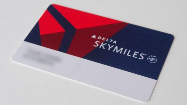 スカイマイルの会員カード