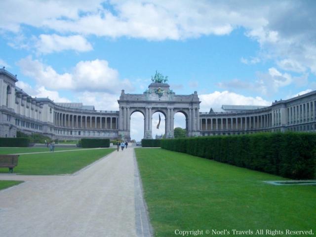 ブリュッセルのサンカントネール公園