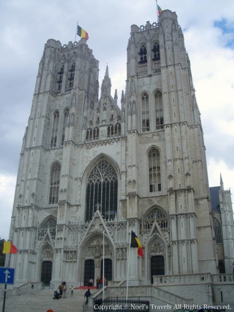 ブリュッセルのサン・ミッシェル大聖堂