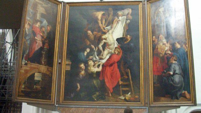 ルーベンスのキリスト降架