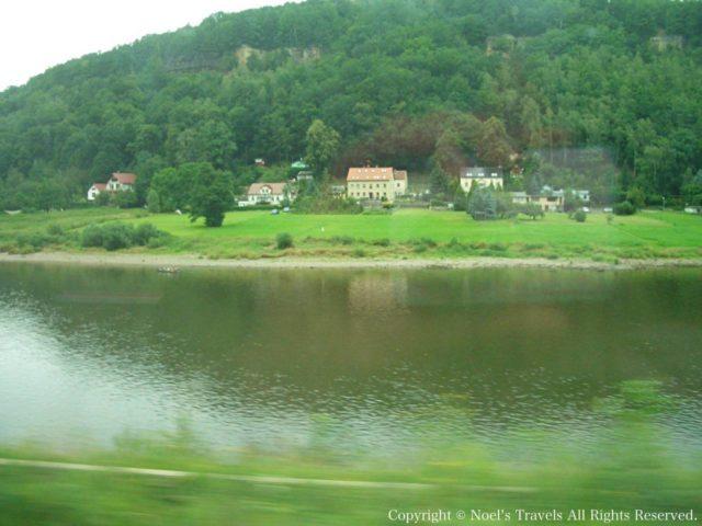 チェコ 車窓からの景色