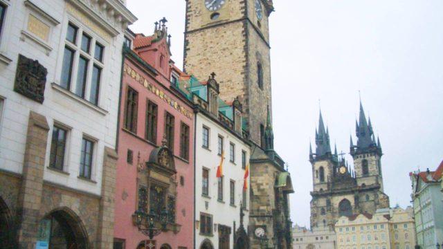 プラハの旧市街広場