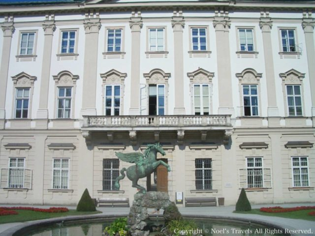 ザルツブルクのミラベル宮殿