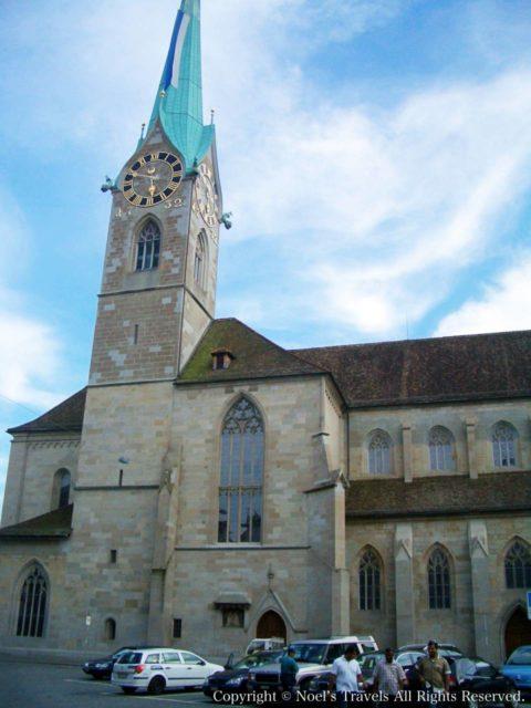 チューリッヒのフラウミュンスター大聖堂