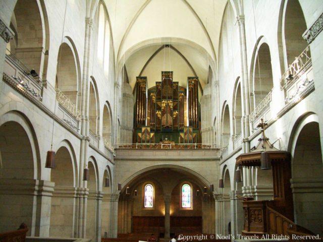 チューリッヒのグロスミュンスター大聖堂