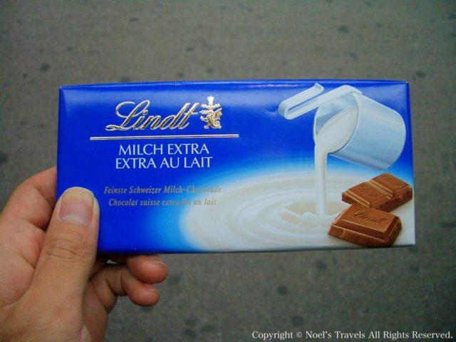 スイスチョコレート「リンツ」