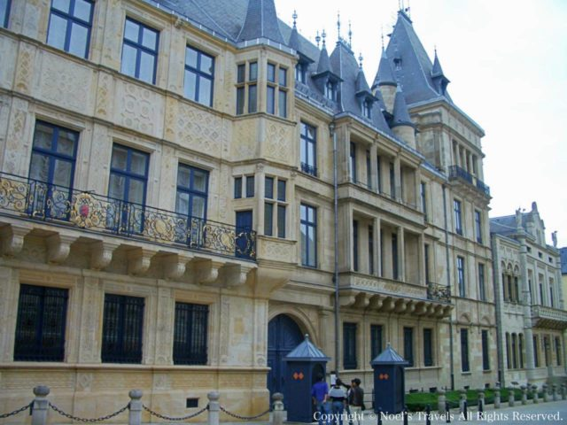 ルクセンブルク大公宮殿(旧市庁舎)