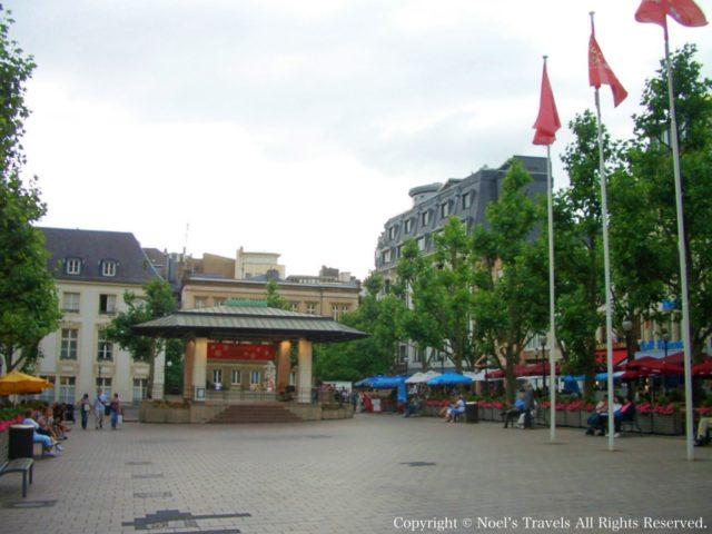 ルクセンブルクのアルム広場
