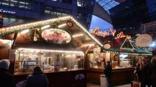 ミュンヘン空港のクリスマスマーケット