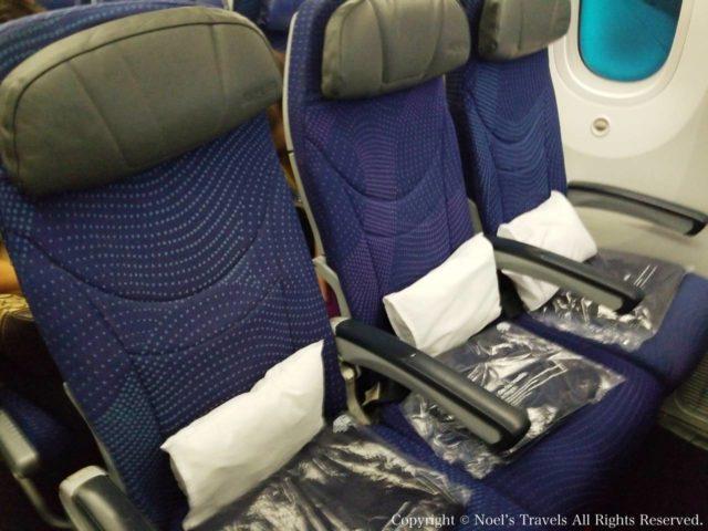 アエロメヒコ航空の座席