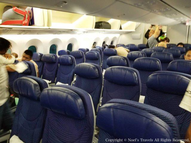 アエロメヒコ航空の機内