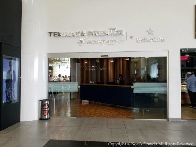 メキシコシティ国際空港のラウンジ「Terraza Premier」