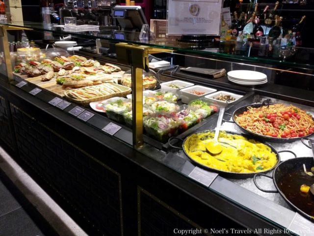ミュンヘン空港のレストラン