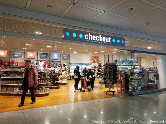 ミュンヘン空港の売店