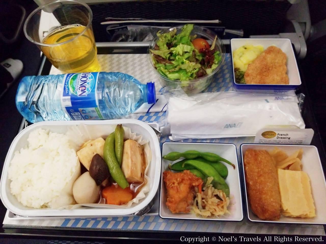 ANAの機内食