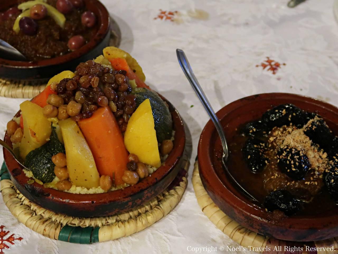 フェズの名物料理タジン鍋