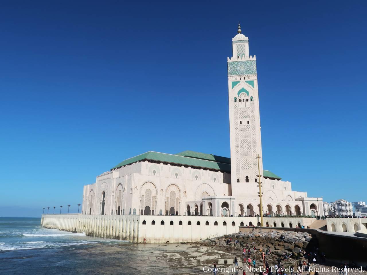 ハッサン2世モスクの外観