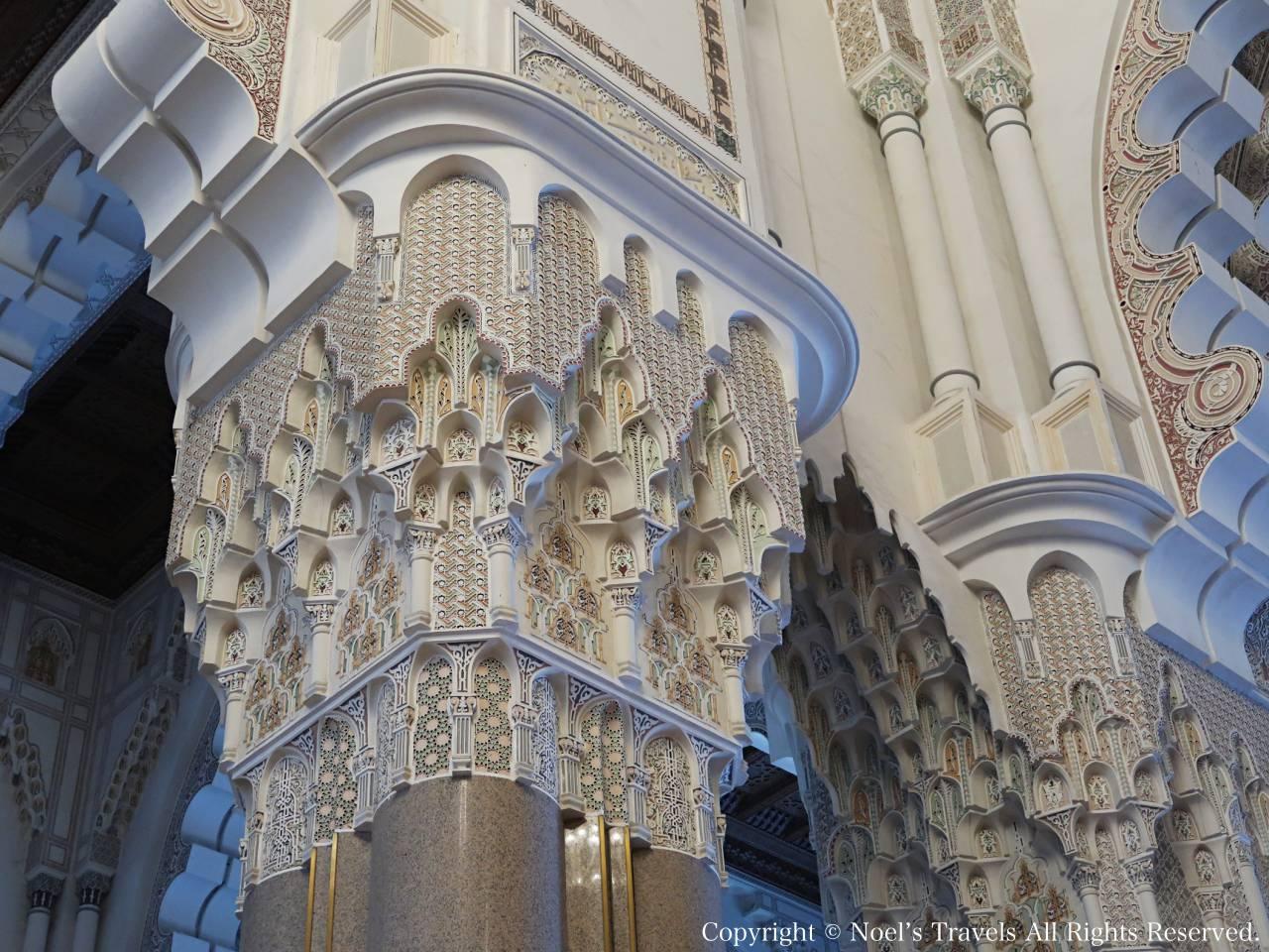 ハッサン2世モスクの礼拝堂
