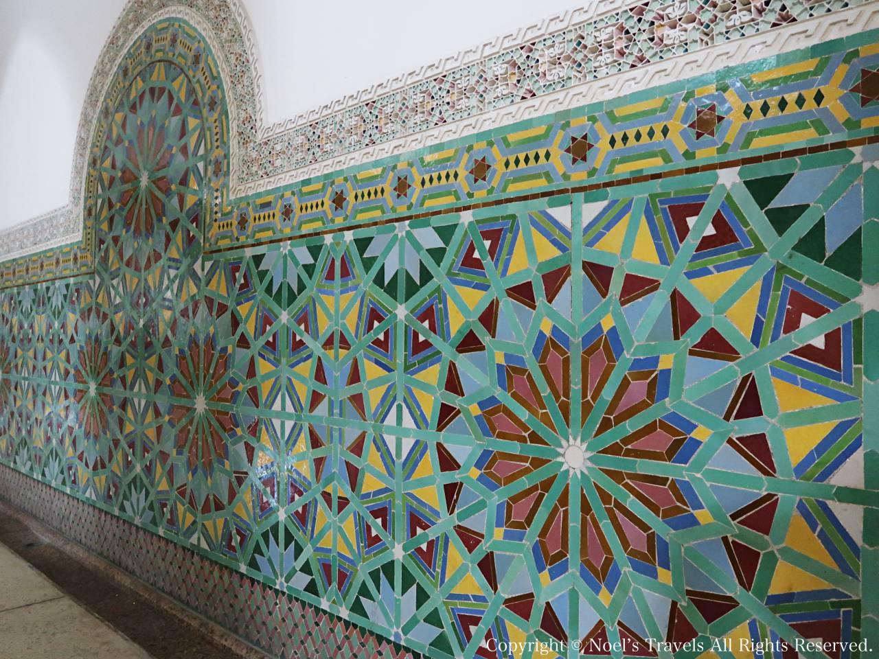 ハッサン2世モスクの沐浴場