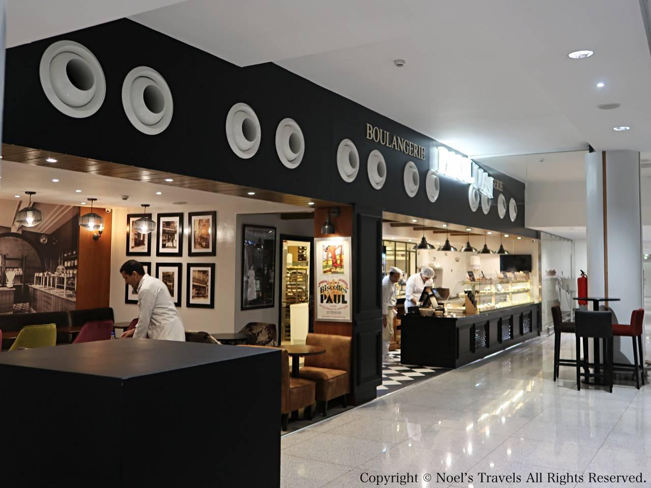 カサブランカ空港のパン屋「Paul」