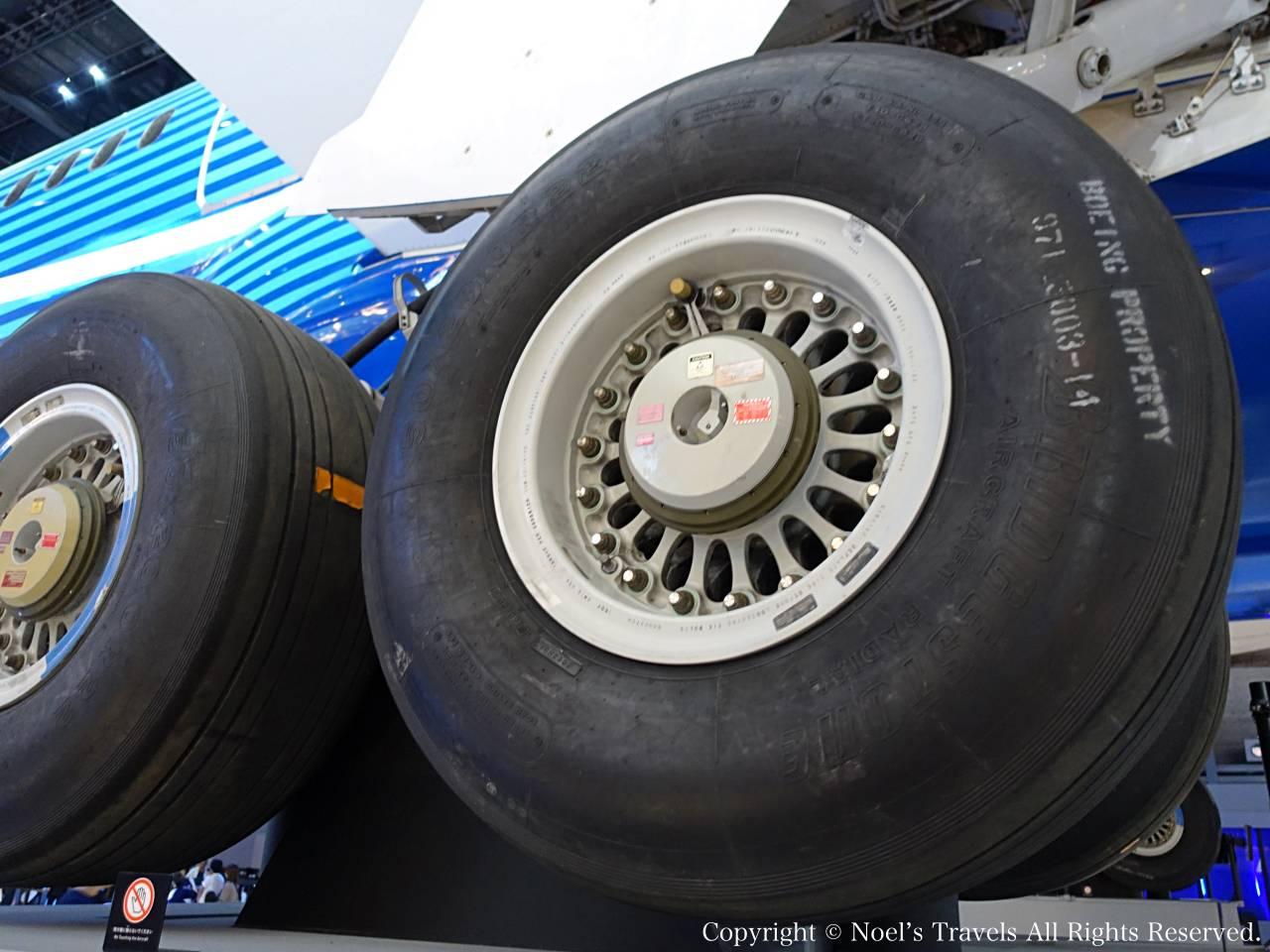 ボーイング787のタイヤ (フライトオブドリームズ)
