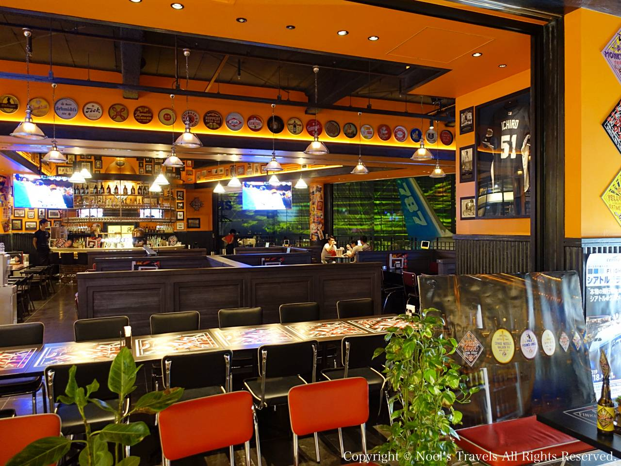 フライトオブドリームズのレストラン