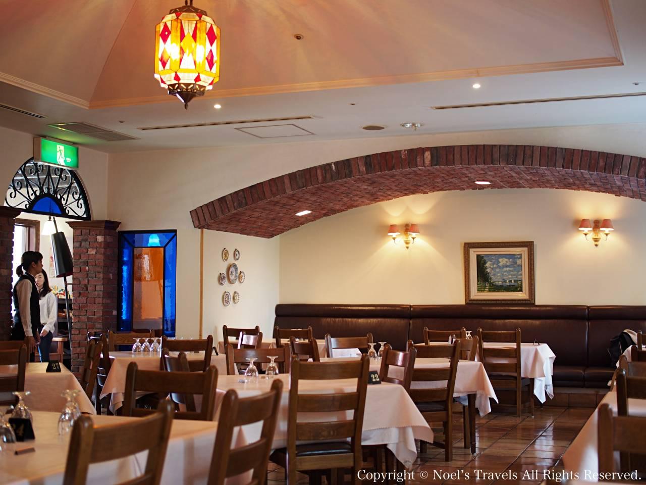 志摩スペイン村のレストラン「アルハンブラ」