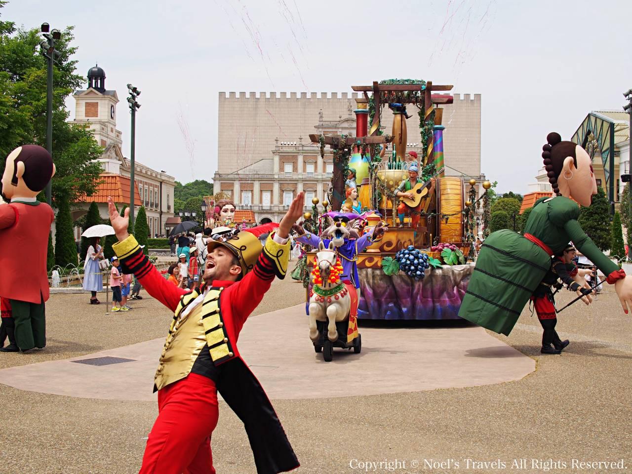 志摩スペイン村のパレード