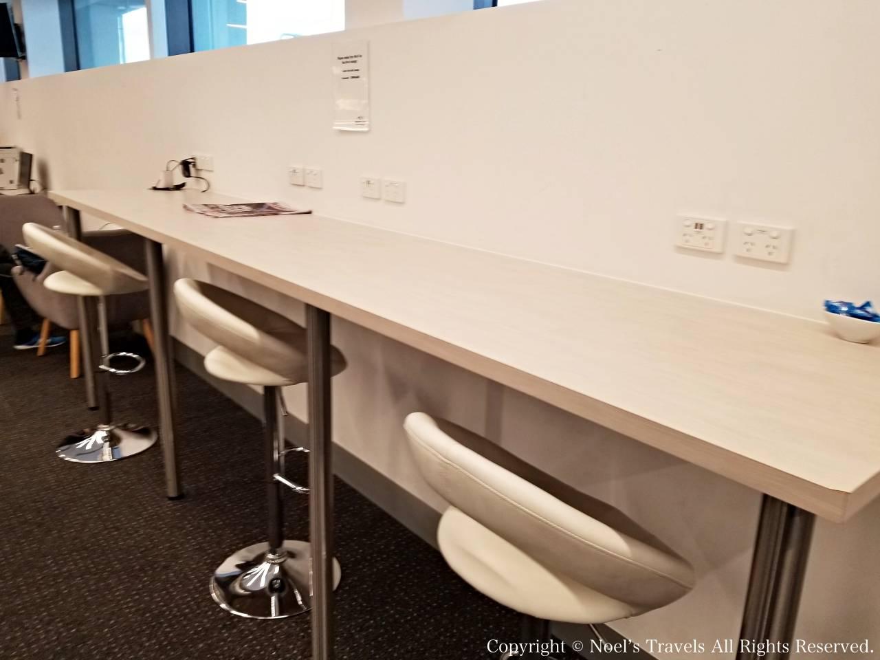 メルボルン空港のRex Business Lounge